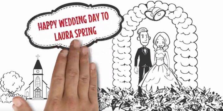 wedding用のアニメーション