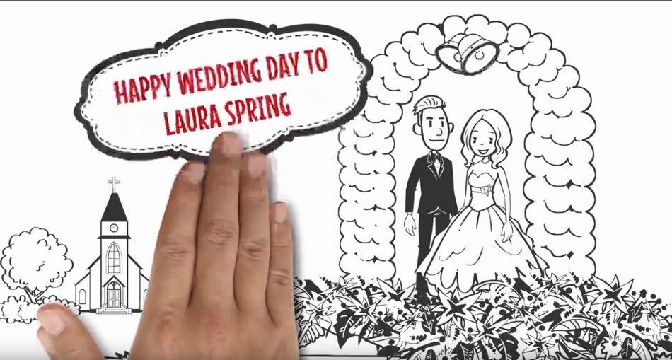 結婚式、披露宴 パーティの招待に使えるアニメ素材