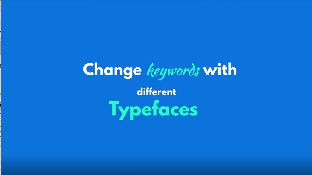 フォントの色 種類を変更