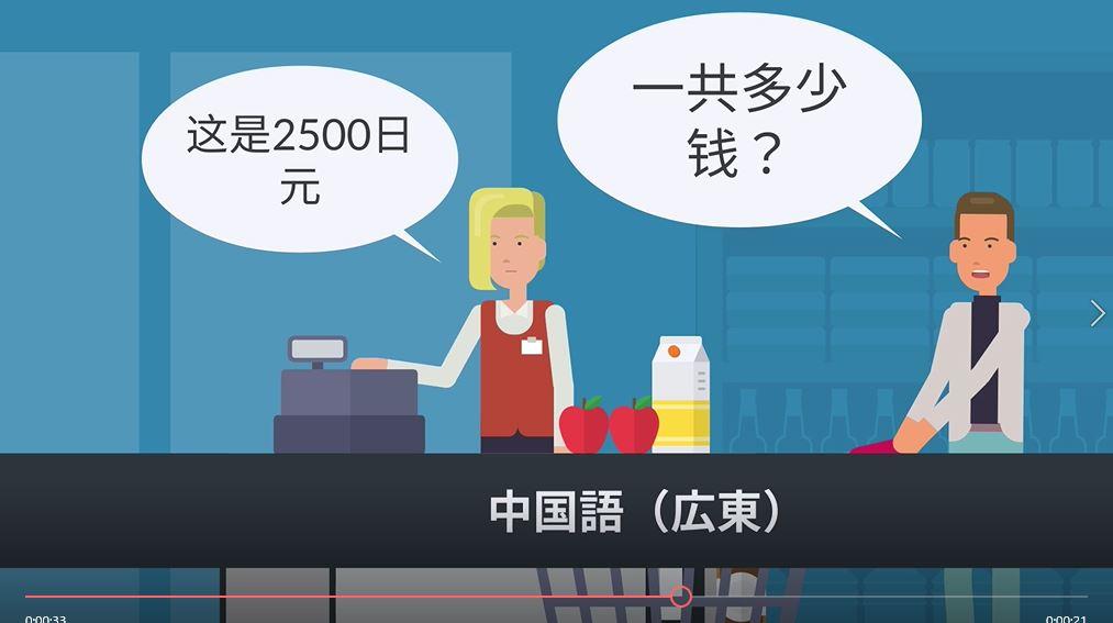 グローバルなコンテンツに使える!音声合成で多言語を使ったサンプル