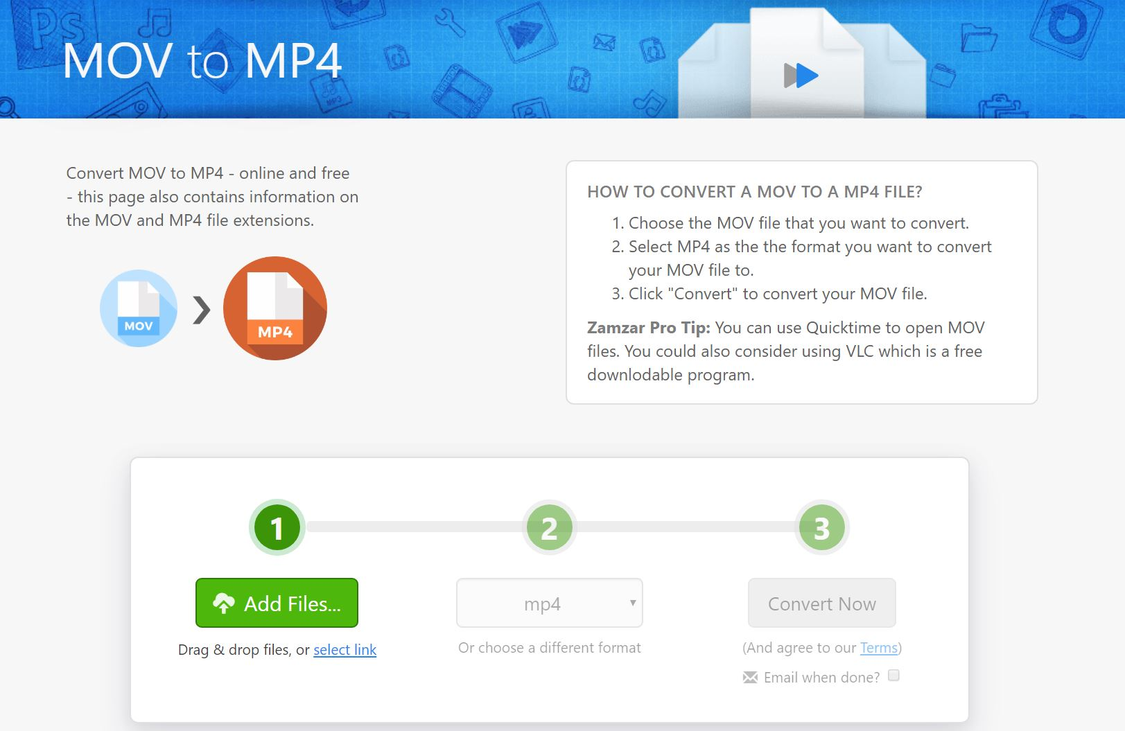 MOVをmp4に変換してiPhoneの動画をVYONDに活用する方法