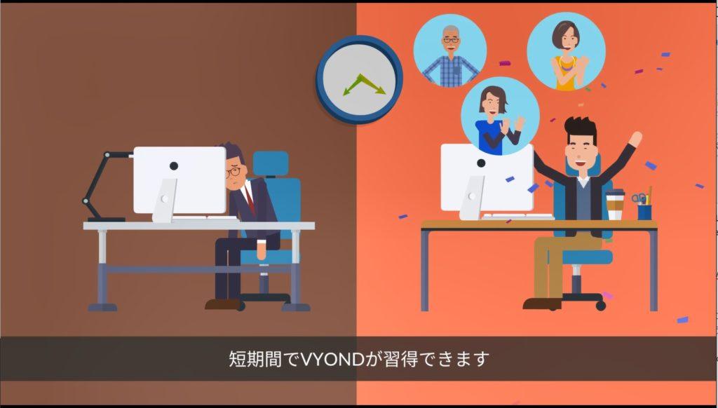 VYOND短期集中オンライントレーニング